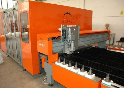 Gluing and Drilling Line